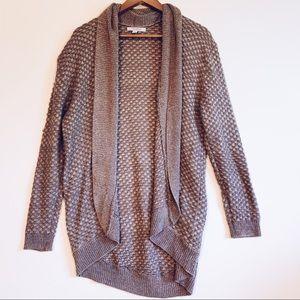 Cardigan Brand Amethyst Knit Oversized Cardigan